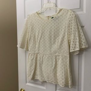 Lace Peplum C-Wonder Top